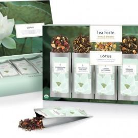 Tea Forte Lotus Single Steeps Sampler Lotus 15 monodose