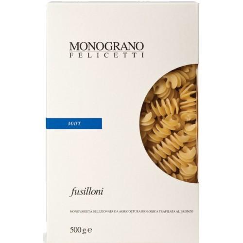 Monograno Felicetti Matt fusilloni 500gr