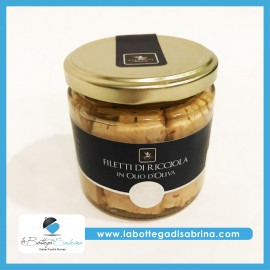 Vincente Delicacies Filetti di Ricciola in olio d'oliva – 300 g