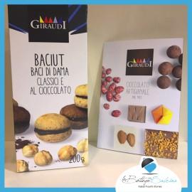 Amaretti ricoperti di Cioccolato Fondente – Giraudi