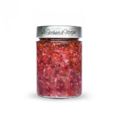 La salsa di Anna agrodolce in olio Morgan