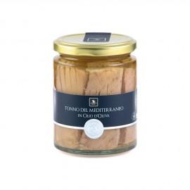 Tonno del Mediterraneo in Olio D'Oliva -  Vincente Delicacies