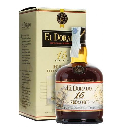 Rum Special Reserve El Dorado Demerara 15 Anni