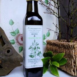 Olive & Basilico -0,250L- Olearia Coppini - Parma