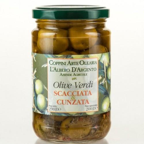 Olearia Coppini Olive Verdi Scacciata & Cunzata